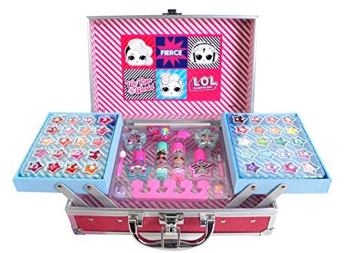 L.O.L. Surprise! 1482226E Beauty-Koffer mit wasserlöslicher Kinderschminke im stylischen Design –...