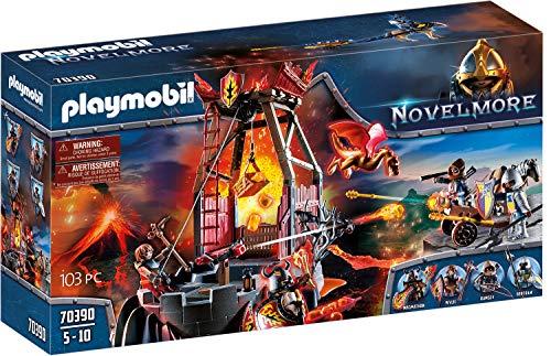PLAYMOBIL Novelmore 70390 Lavamine, Für Kinder von 4-10 Jahren