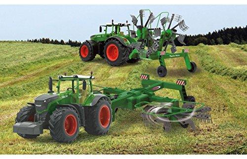 RC Traktor FENDT 1050 + SCHWADER-Anhänger XL Länge 70cm 'Ferngesteuert' 1050/S