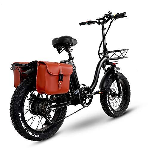Y20 Ebike Klapprad 20 Zoll, Upgrade E-Bike Damen mit 15AH 48V Batterie, Mountainbike Klappbar mit 750W,...