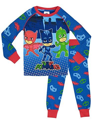 PJ Masken Jungen PJ Masken Schlafanzüge, 6, mehrfarbig 116 (Herstellergröße: 5 - 6 Jahre)