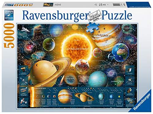 Ravensburger Puzzle 16720 - Planetensystem - 5000 Teile Puzzle für Erwachsene und Kinder ab 14 Jahren