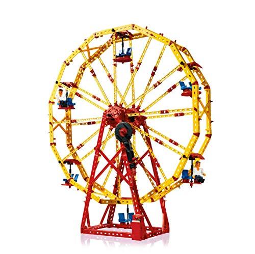 fischertechnik Bauset Super Fun Park - das Konstruktionsspielzeug bringt den Freizeitpark ins...