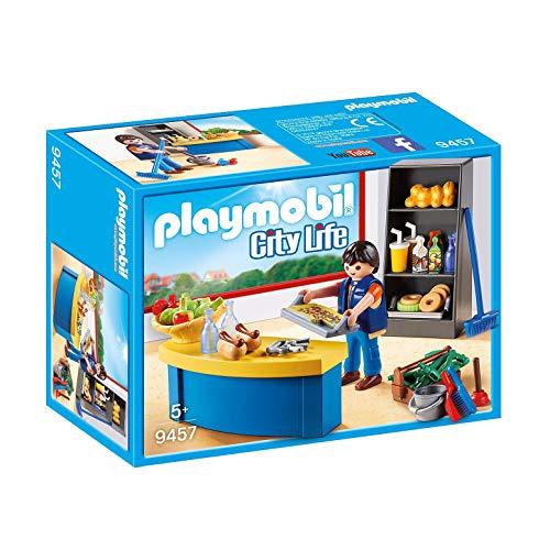 PLAYMOBIL City Life 9457 Hausmeister mit Kiosk, Ab 5 Jahren