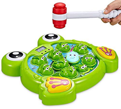 Think Gizmos Interaktiver Schlag den Frosch TG702 - lustiges Spielzeug für Jungen und Mädchen im Alter...
