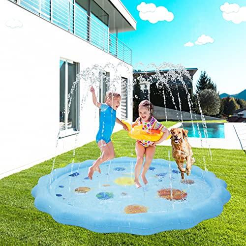 69 'Kids Splash Pad Sprinkler Spielmatte Aufblasbare Sommer Outdoor Sprinkler Pad Wasserspielzeug...