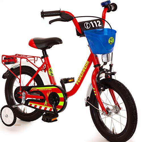 Unbekannt Kinderfahrrad 12 Zoll mit Stützräder und Rücktrittbremse Jungen Mädchen sam Fahrrad für...