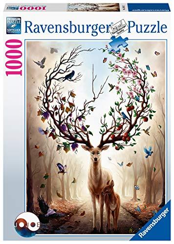 Ravensburger Puzzle 15018 - Magischer Hirsch - 1000 Teile Puzzle für Erwachsene und Kinder ab 14 Jahren,...