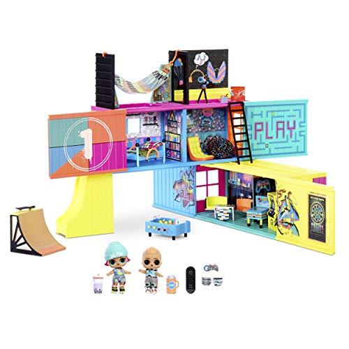 L.O.L. Surprise! 569404E7C LOL Surprise Clubhouse 40 Überraschungen-2 Exklusive Puppen, 7 Räume,...
