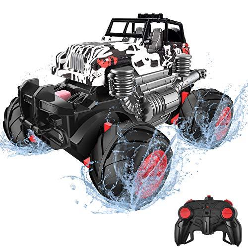 balnore Ferngesteuertes Auto RC Monstertruck 4WD Auto Buggy 2.4 GHz Elektro Alles Gelände...