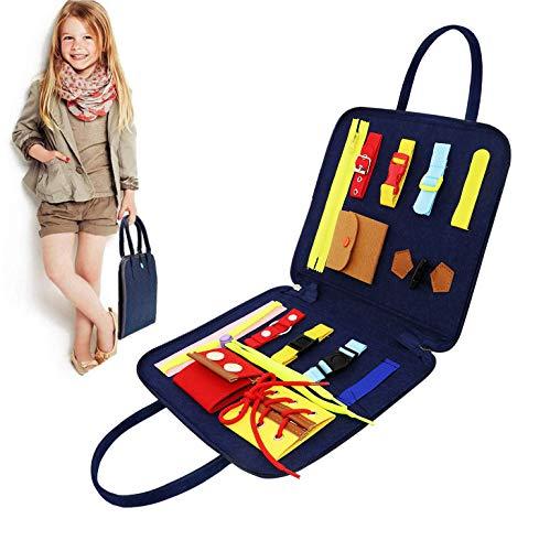 Activity Board für Kinder Montessori Spielzeug , Beschäftigtes Board für Kleinkinder,Basic Motor...
