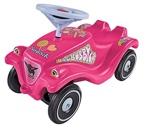 BIG-Bobby-Car-Classic Candy - Kinderfahrzeug mit Aufklebern in Candy Design, für Jungen und Mädchen,...
