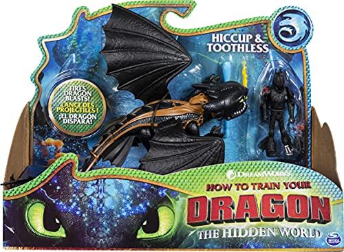 Dragons Movie Line - Dragon & Vikings - Ohnezahn und Hicks (Solid), Actionfiguren Drache & Wikinger,...