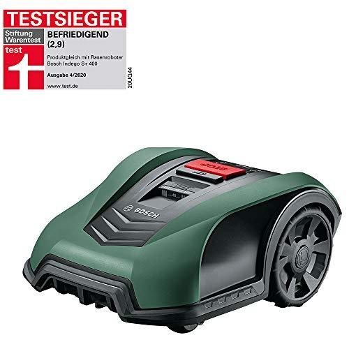 Bosch Roboter Rasenmäher Indego S+ 350 (mit App-Funktion, 19 cm Schnittbreite, für Rasenflächen bis...