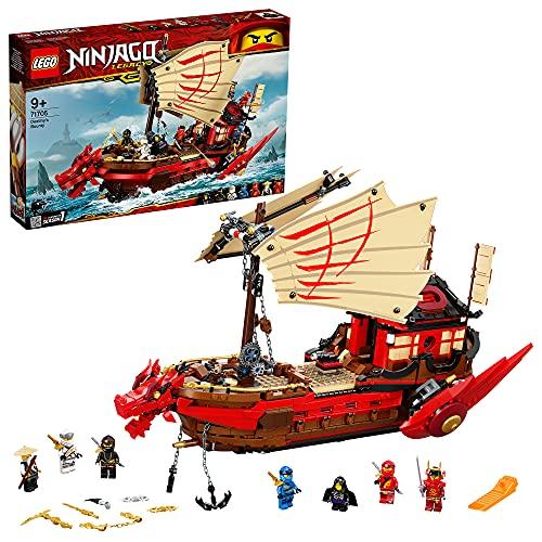 LEGO 71705 NINJAGO Legacy Ninja-Flugsegler Spielset, Spielzeug Schiff