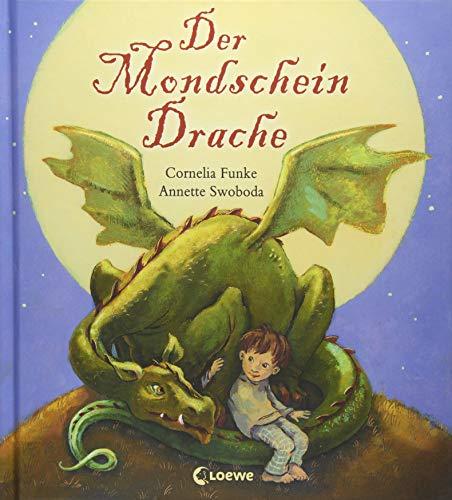 Der Mondscheindrache: Bilderbuch zum Vorlesen mit farbigen Illustrationen für Kinder ab 4 Jahre
