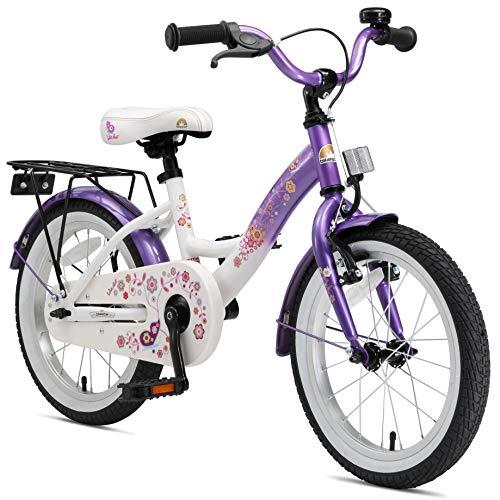 BIKESTAR Premium Sicherheits Kinderfahrrad 16 Zoll für Mädchen ab 4-5 Jahre ★ 16er Kinderrad Classic...