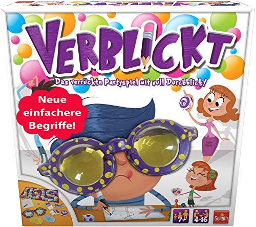 Goliath 76111 - Verblickt, Partyspiel für Jung und Alt, Begriffe zeichnen und erraten, Lustiges...