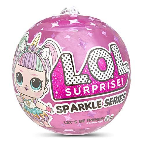 L.O.L. Surprise! 26559665E7C Surprise Doll Sparkle Series Sammelfigur mit Glitzer und 7 Überraschungen,...
