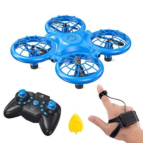 Dragon Touch Mini Drohne für Kinder, DK01Quadrocopter Mini Helikopter mit Kopfloser Modus Farbige LED,...