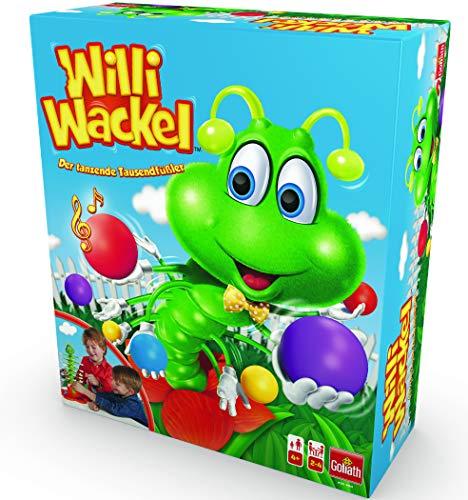 Goliath Toys 30960.106 - Willi Wackel - lustiges Aktionsspiel - tanzender Tausendfüßler als...