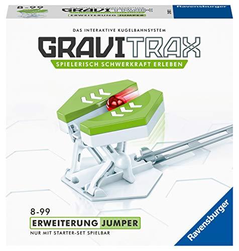 Ravensburger GraviTrax Erweiterung Jumper - Ideales Zubehör für spektakuläre Kugelbahnen,...