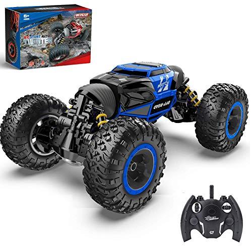 BEZGAR 1:14 Ferngesteuertes Auto, Kinderspielzeug Off Road Transform Rennwagen 2,4 GHz 4WD Elektromotoren...