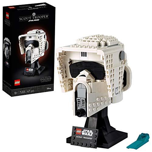 LEGO75305StarWarsScoutTrooperHelmBausetfürErwachsene,Deko,Geschenkidee,Modellzu...