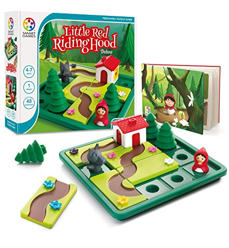 smart games SG 021US games Smartgames SG 21 – Spiel Little Red Riding Hood, rot
