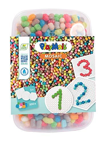PlayMais 160662 - Mosaic 500 123 Bastelset, ca. 500 Teile