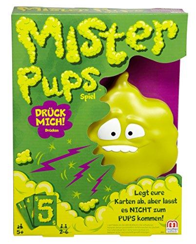 Mattel Games DPX25 - Mister Pups lustiges Kartenspiel und Kinderspiel geeignet für 2 - 6 Spieler,...
