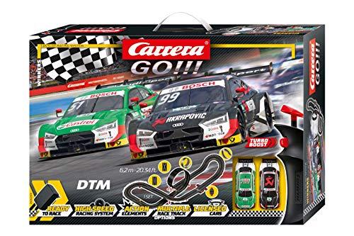Carrera GO!!! Winners Rennstrecken-Set | 6,2m elektrische Rennbahn mit Rockefellers & Muellers Audi RS 5...