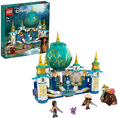 LEGO43181DisneyPrincessRayaundderHerzpalastSpielset,SchlossSpielzeugmitNamaariMi...