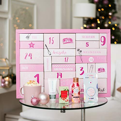 Pink Box Beauty Adventskalender 2020 | Adventskalender für Frauen & Mädchen mit 24 tollen...