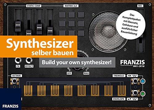 FRANZIS Synthesizer selber bauen | Komplettpaket mit Bausatz zum Basteln und Löten | Ab 14 Jahren