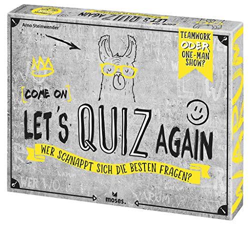 Moses 90136 (Come on) Let's Quiz Again | Wer schnappt Sich die besten Fragen | Quizspiel ab 12 Jahren,...