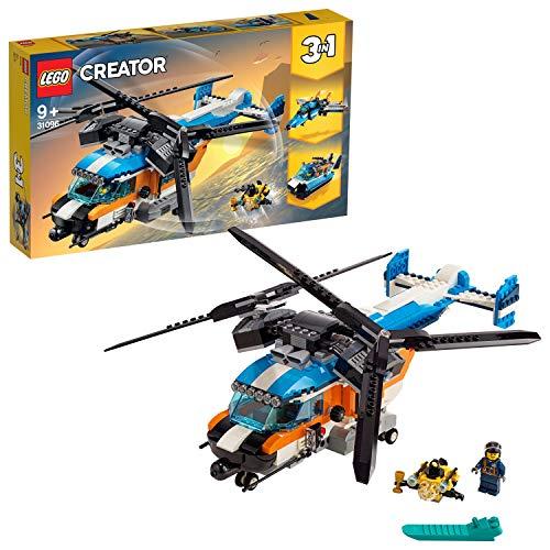LEGO - Creator 3-in-1-Set Doppelrotor-Hubschrauber