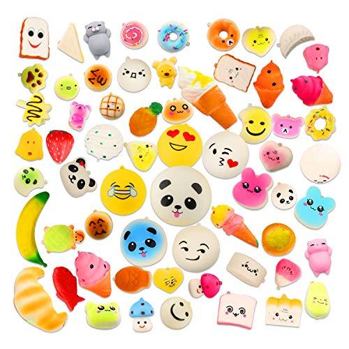 AceLife Squishy Spielzeug 20 Stück, Squishies Set für Kinder, Anti-Stress Squeeze Spielzeug mit...