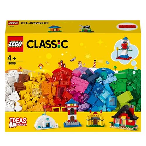 Klemmbaustein-Box 'LEGO Bausteine – bunte Häuser' von LEGO Technic