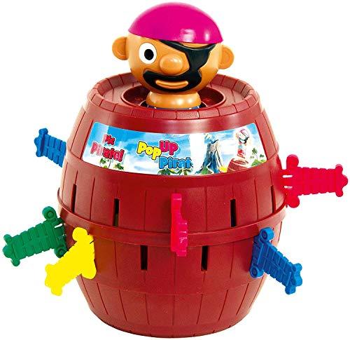 TOMY Kinderspiel 'Pop Up Pirate', Hochwertiges Aktionsspiel für die Familie, Piratenspiel zur...