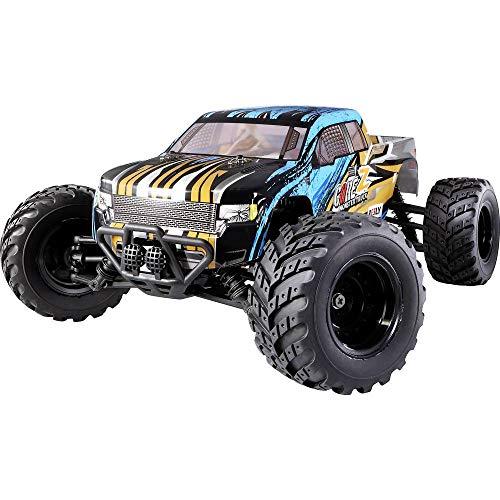 Reely CORE Z Brushed 1:10 XS RC Einsteiger Modellauto Elektro Monstertruck Allradantrieb (4WD) RTR 2,4...