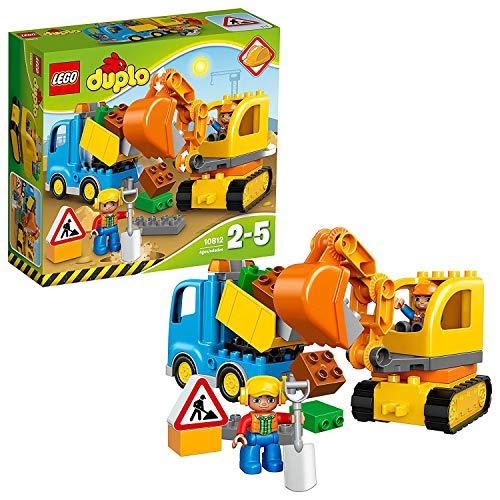 LEGO duplo: Bagger und Lastwagen