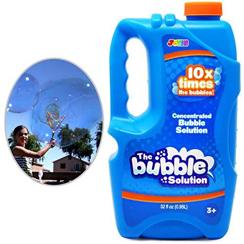 JOYIN 0,95 Liter KONZENTRIERT Seifenblasenflüssigkeit Nachfüllflasche (bis zu 9.5L) Mischung der...