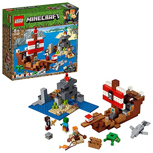 Lego 21152 Minecraft Das Piratenschiff-Abenteuer, Bauset