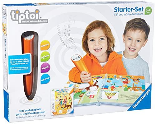 Ravensburger tiptoi Starter-Set 00806: Stift und Wörter-Bilderbuch - Lernsystem für Kinder ab 3 Jahren