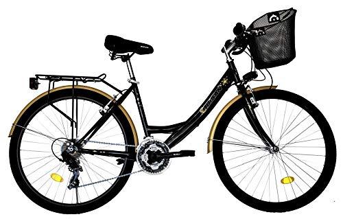 T 26 Zoll Kinder Mädchen Damen City Fahrrad Damenfahrrad Cityfahrrad Citybike Mädchenfahrrad Bike Rad...