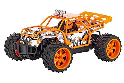Carrera RC 2,4GHz 4WD Truck Buggy Orange I ferngesteuertes Auto ab 6 Jahren für drinnen & draußen I mit...