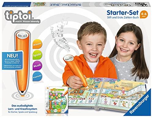 Ravensburger tiptoi Starter-Set 00803: Stift und Erste Zahlen-Buch - Lernsystem für Kinder ab 4 Jahren:...
