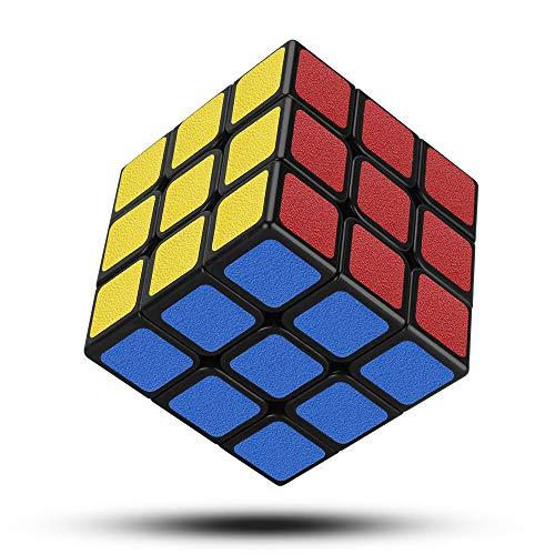Jooheli Zauberwürfel, Speed Cube 3x3 Magic Cube 3D Magischer Würfel Spielzeug fit Speed Cubing Gehirn...