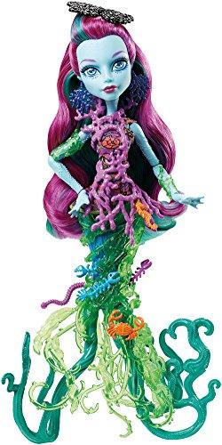 Monster High DHB48 - Modepuppen, Das Große Schreckensriff, Posea Reef